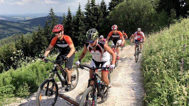 Škola techniky jízdy na horském kole