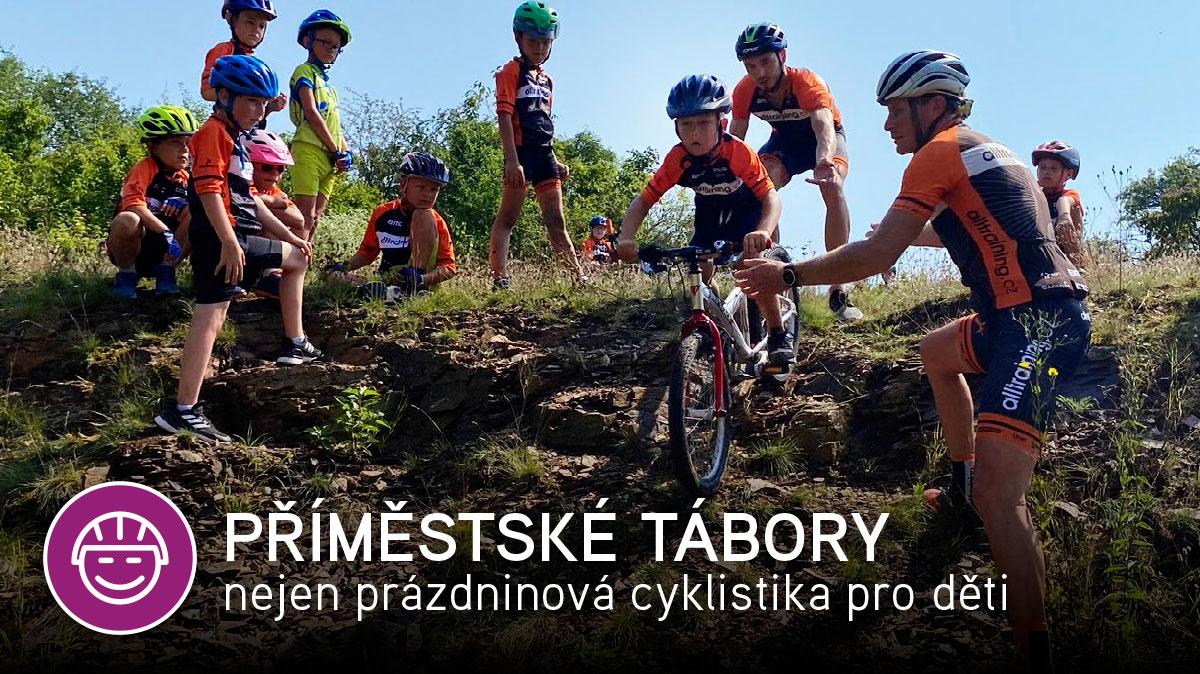 Příměstské tábory nejen prázdninová cyklistika pro děti