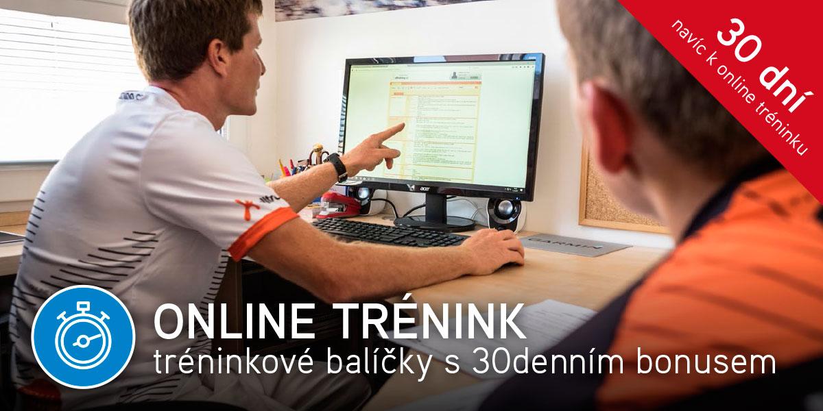 Online trénink tréninkové balíčky s 30denním bonusem