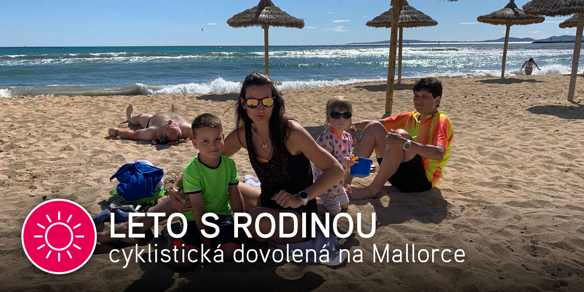 Léto s rodinou cyklistická dovolená na Mallorce