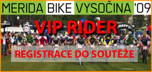 Staň se jedním ze 6 VIP RIDERs na MERIDA BIKE VYSOČINA a vyhraj tréninkový plán ZDARMA | obrázek