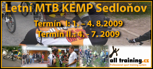 Letní MTB KEMP Sedloňov i za účasti Jána Svorady | obrázek