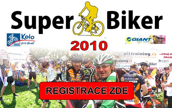 Super Biker 2010 aneb soutěž pro všechny cyklisty o VIP den, na který nezapomenete! | obrázek