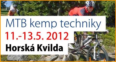 Pozvánka MTB kemp techniky HORSKÁ KVILDA 11. - 13. 5. 2012 | obrázek
