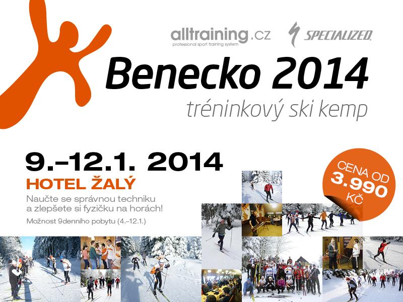 Zlepšete techniku a zvyšte svoji kondici na běžkách - SKI KEMP BENECKO 9. - 12. 1. 2014 | obrázek