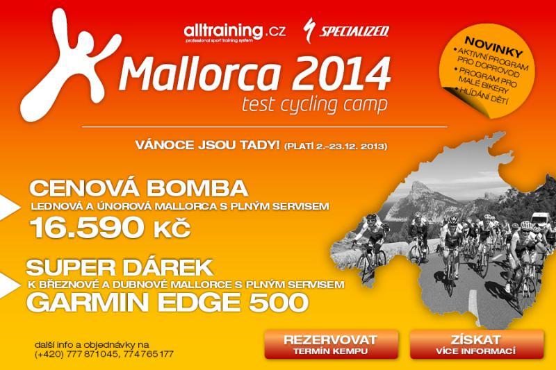 TIP NA VÁNOČNÍ DÁREK: Mallorca za skvělou cenu a Garmin Edge 500 jako dárek ZDARMA | obrázek