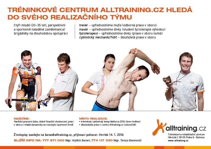 Skvělá pracovní nabídka, brigáda pro kvalifikované studenty, sportovce a příznivce Alltraining.cz!   obrázek