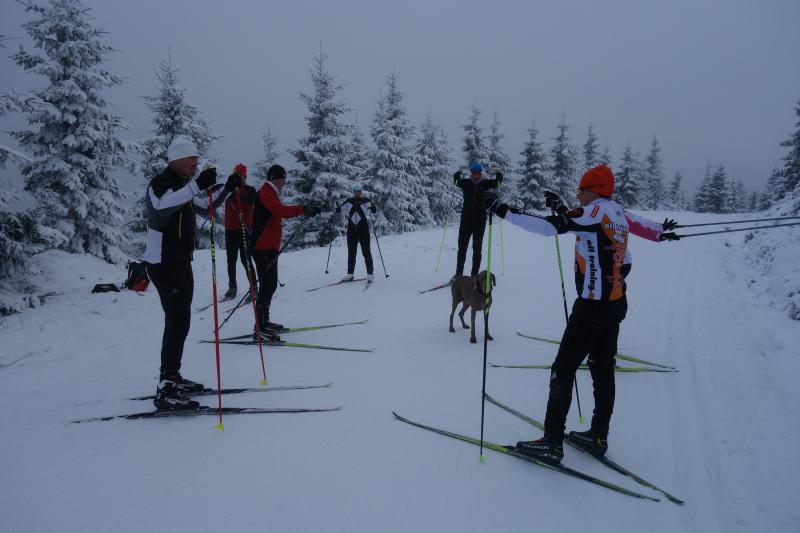 Alltraining.cz posílá lyžařský pozdrav ze zasněženého Benecka!