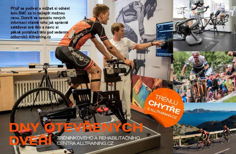 Zveme vás na dny otevřených dveří Alltraining.cz - novinky, cvičení, trénink, zábava a kola BMC