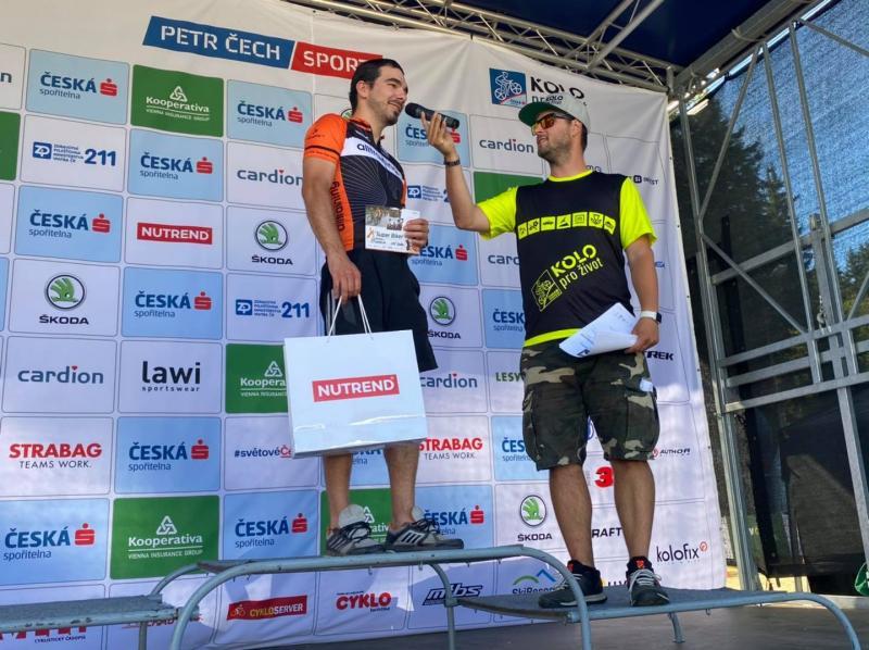 Zážitkový závodní den Super Bikera na Šumavském MTB bikemaratonu české spořitelny | obrázek