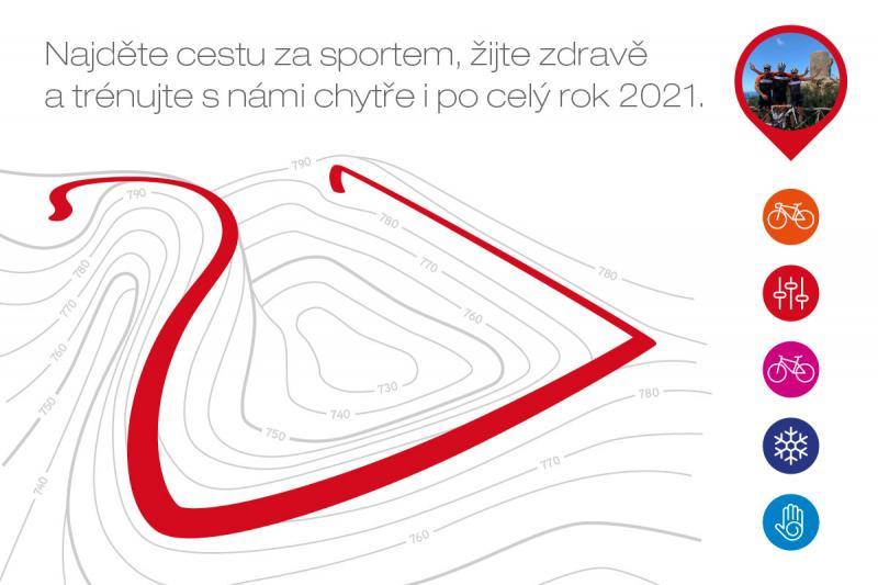 TRÉNUJTE S NÁMI CHYTŘE I PO CELÝ ROK 2021!