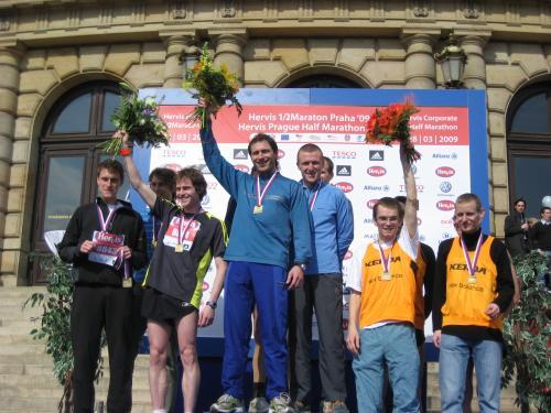 Štafeta Alltraining.cz druhá na Hervis půlmaratonu | obrázek